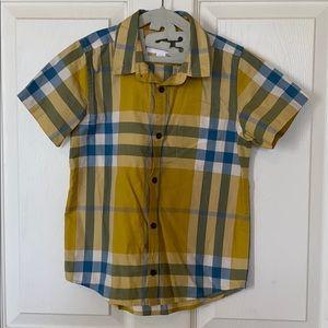 Burberry children button down shirt